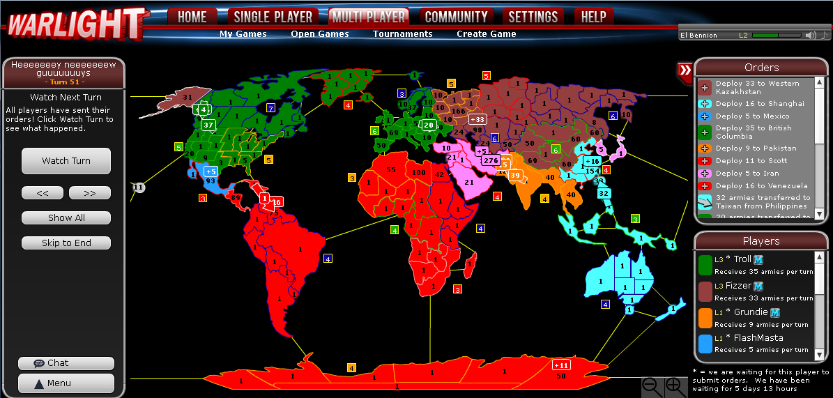 play risk online against computer